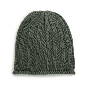 Treasure & Bond Beanie Hat One Size Ribbed Knit